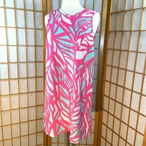 Lilly Pulitzer Papaya Playa Sabrina shift dress XS